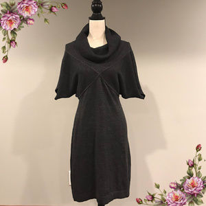 Sandra Darren grey sweaterdress